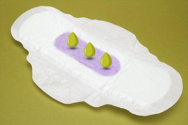 افرازات خضراء للحامل